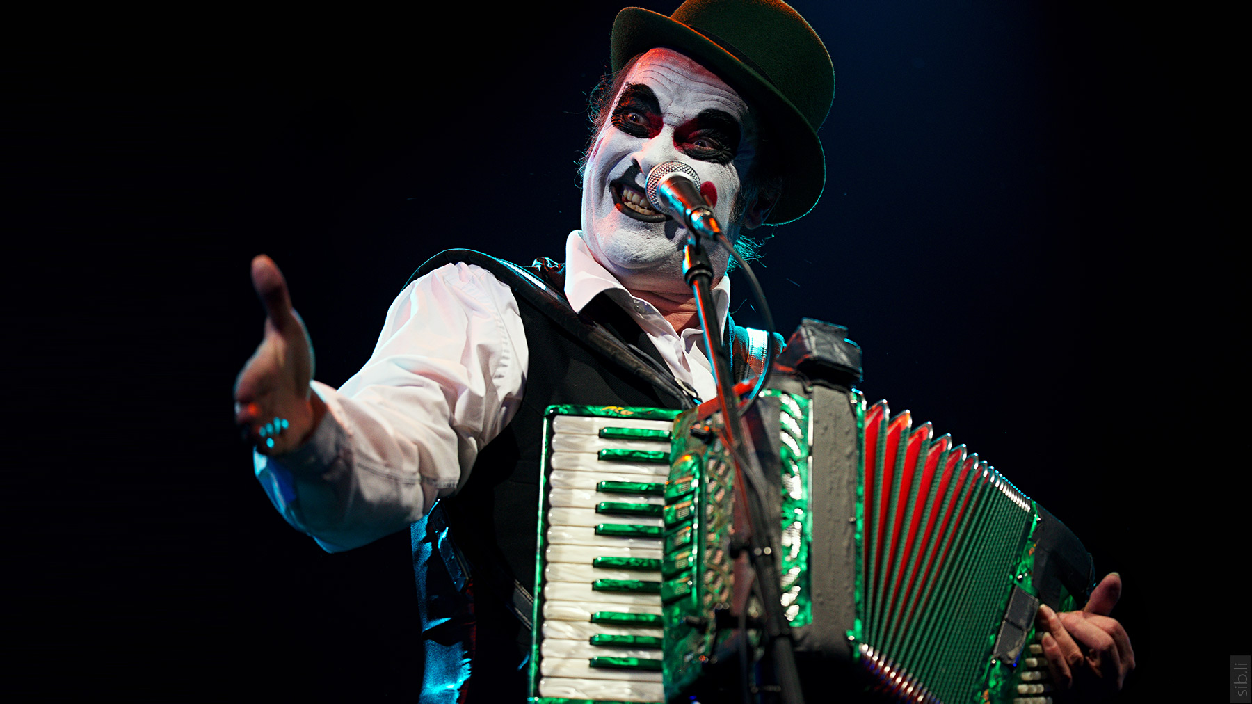 The Tiger Lillies. Martyn Jacques