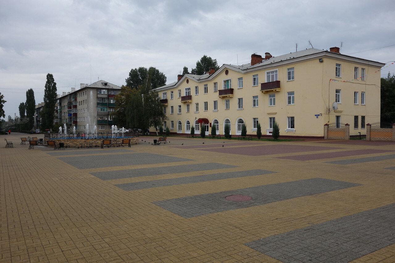 площадь на улице Правды