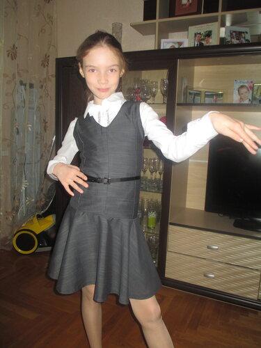 Форма для девочки сшить своими руками 89