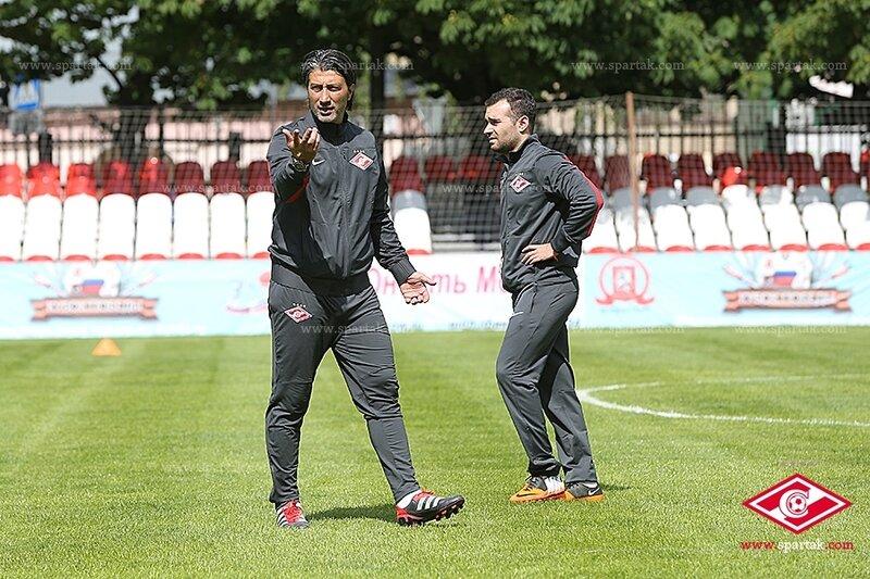 «Спартак» провел открытую для прессы тренировку