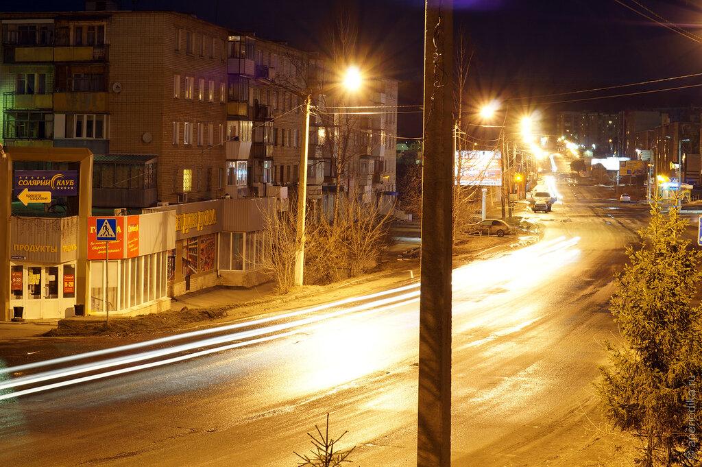 Златоуст. Ночные фотографии