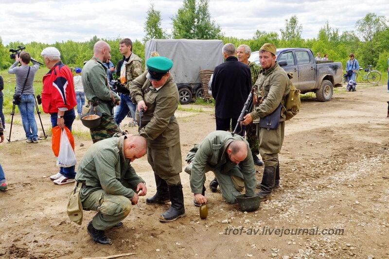 Пленение немцев. 22 июня, реконструкция начала ВОВ в Кубинке (2 часть)
