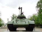 Танк Т-34-76 (завод №112, 1943г.), пр-т Кораблестроителей, г.Н.Новгород