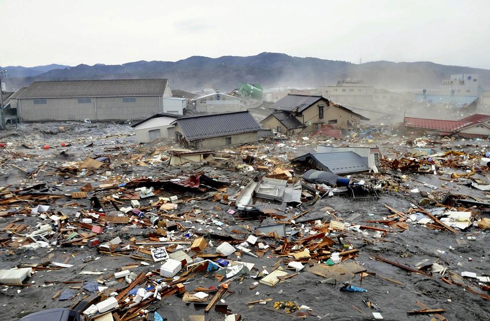 Самое мощное землетрясение за всю историю Японии