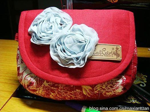 Сумка из ткани с выкройкой. Bag of cloth with patterns. DIY tutorial