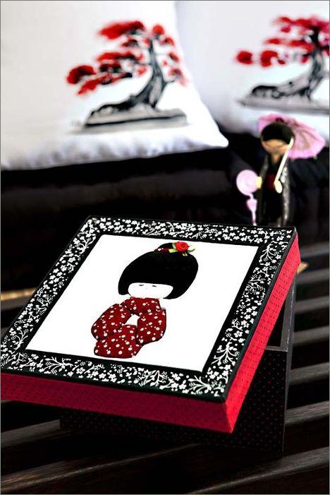 Кинусайга - пэчворк на пенопласте