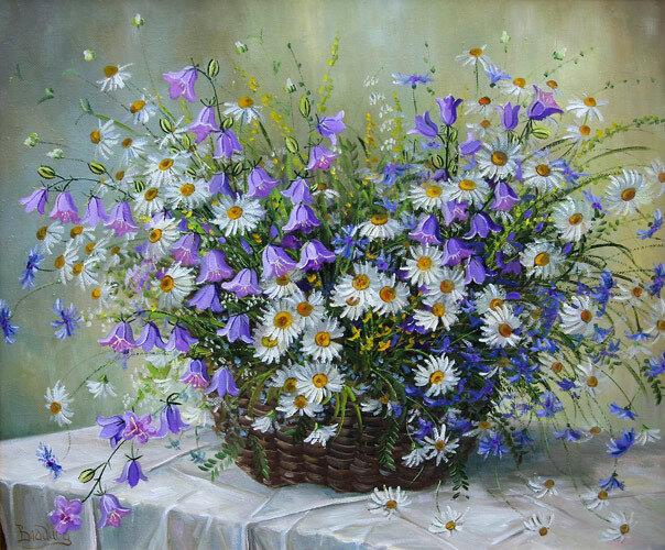 Ты дарил полевые цветы, говорил пылко мне о любви