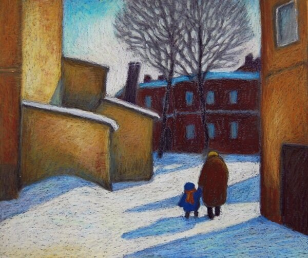 Анна Ярмолюк. Мороз в Харькове