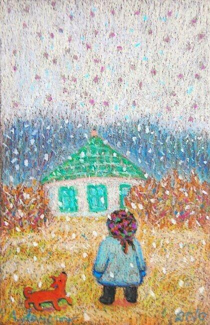 Анна Ярмолюк. На землю снег ложится