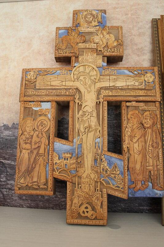 Берестяной крест.