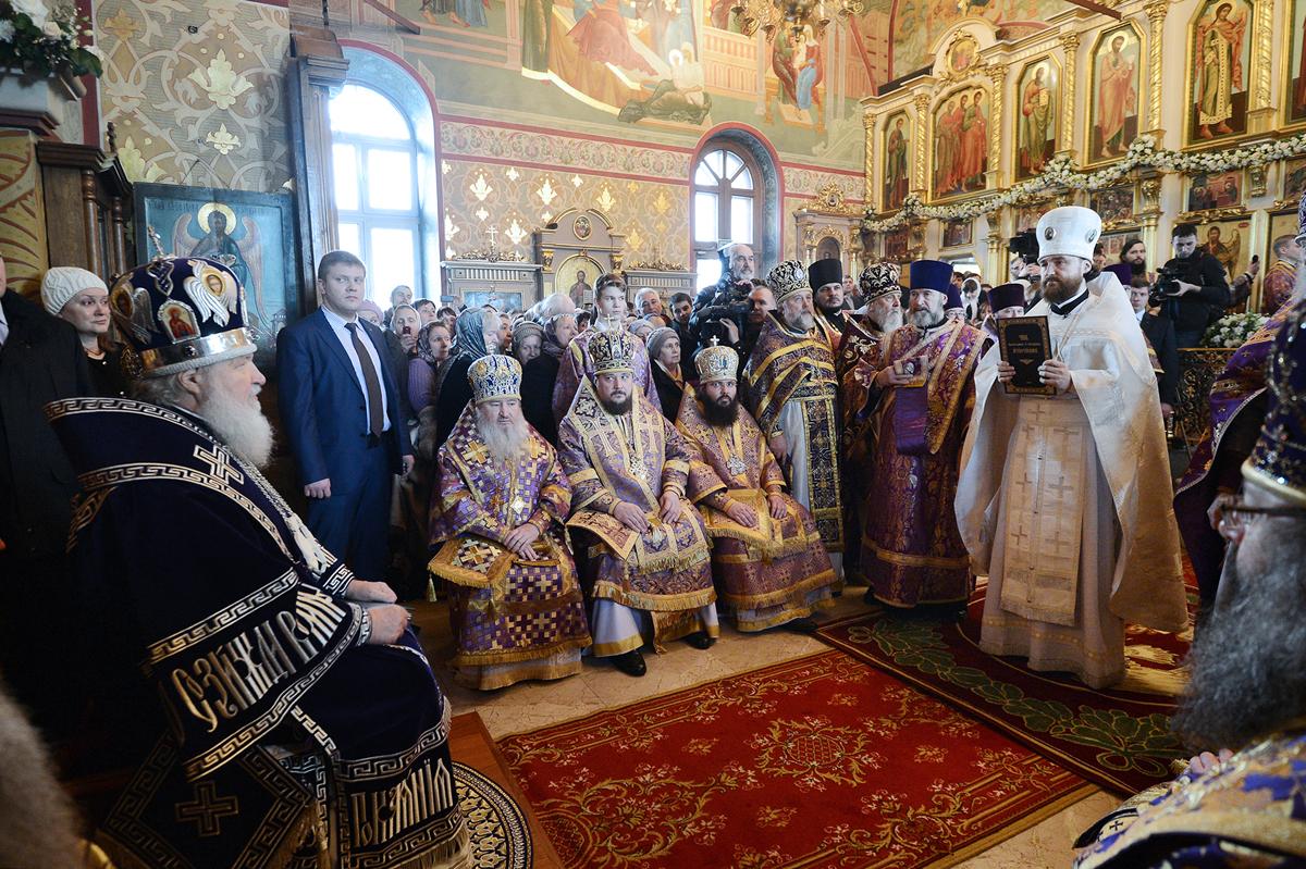 хиротония архимандрита Григория. 2014