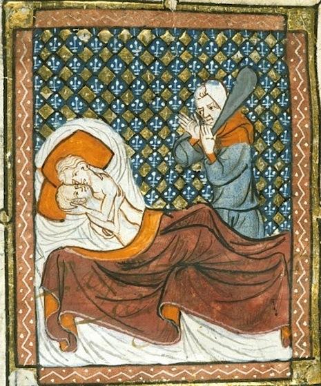 Заниматься сексом в Средневековье было очень непросто (5 фото)