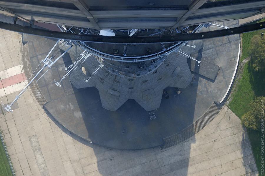 9. В полу есть окошки с бронированными стеклами толщиной 3см: даже если самый толстый человек в мире