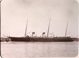 Общий вид императорской яхты Штандарт.