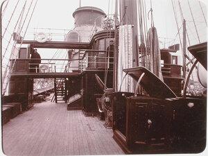Вид части палубы яхты Штандарт.