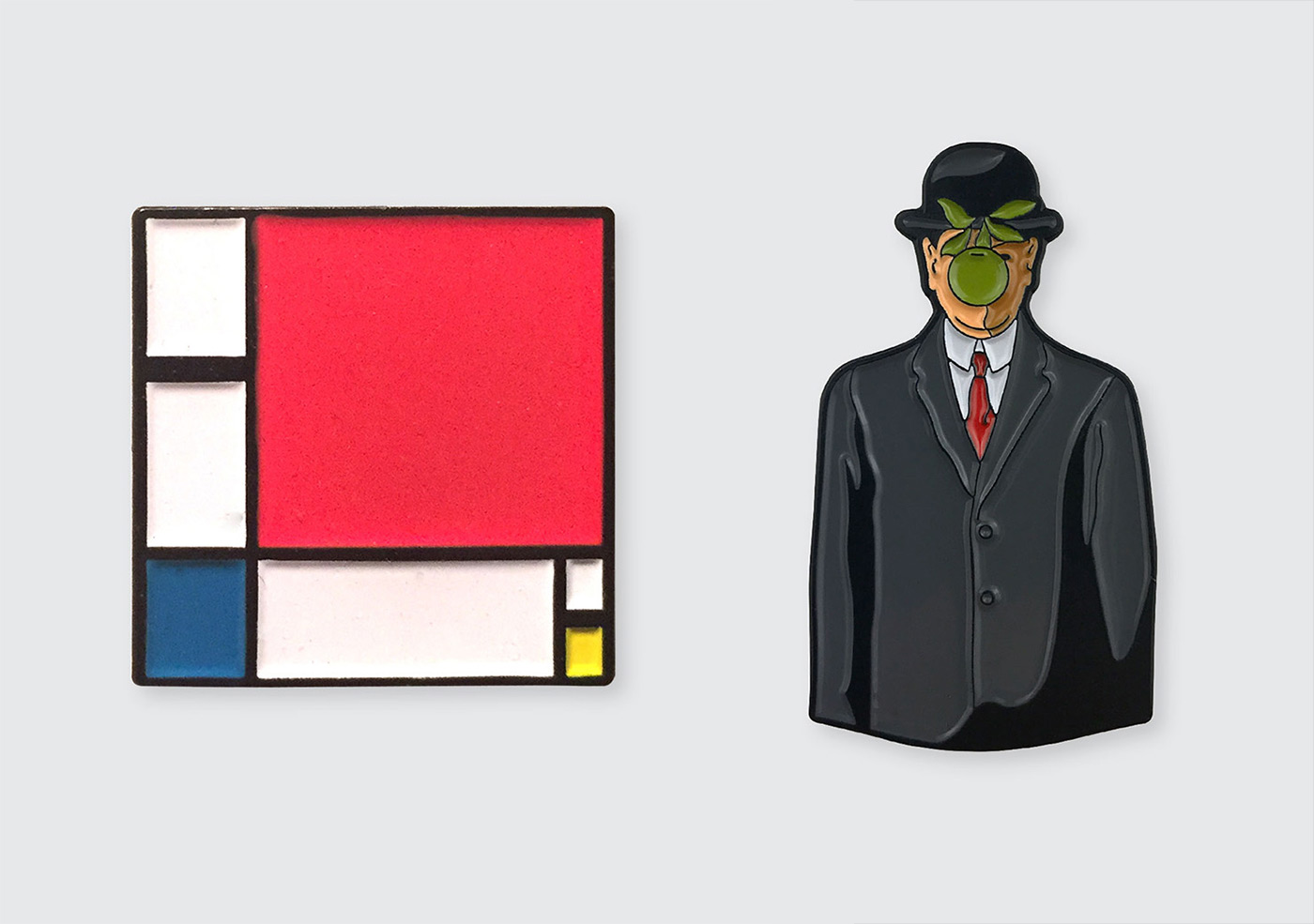 Art Enamel Pins Inspired by the Masters