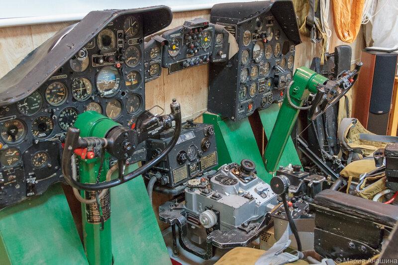 Реконструкция кабины дальнего бомбардировщика, Музей Дальней авиации