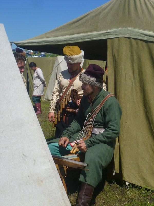 """Исторический фестиваль """"Сибирский огонь-2015"""" (Historical festival """"Siberian fire-2015"""")"""
