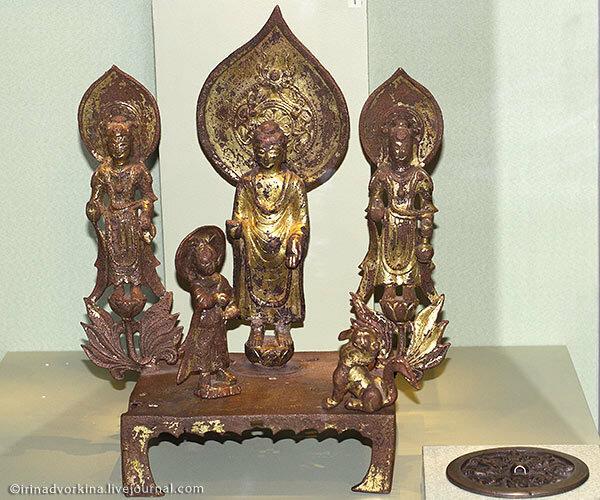 Буддийский алтарь. VI в.