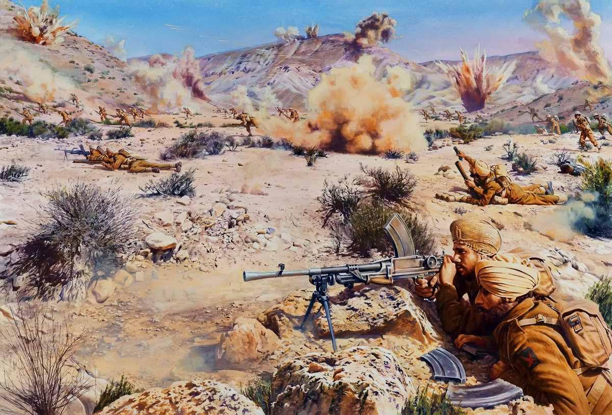 4-ая индийская дивизия в Северной Африке