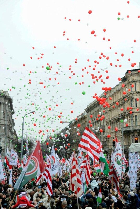 OGY2014 - Jobbik - Március 15. - A Jobbik rendezvénye Budapesten