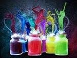 Яркие краски / Я художник / Боди - Арт / Художественный клипарт