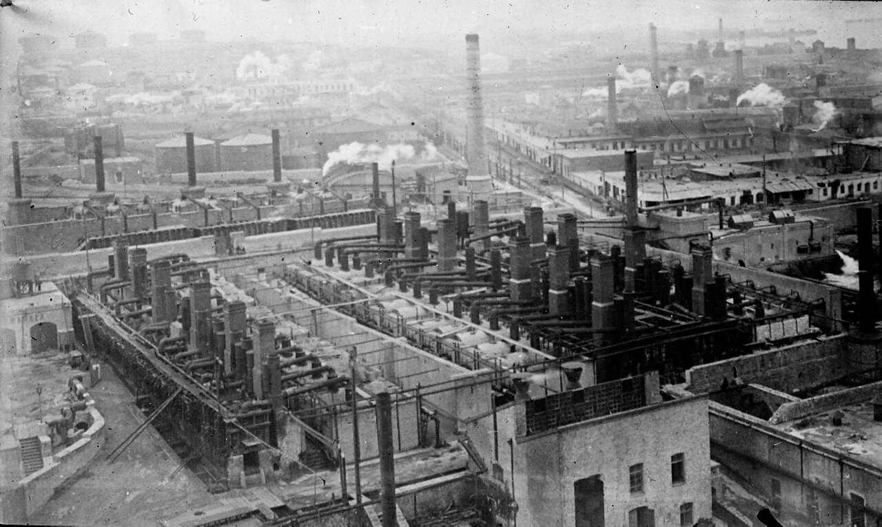 Панорама завода
