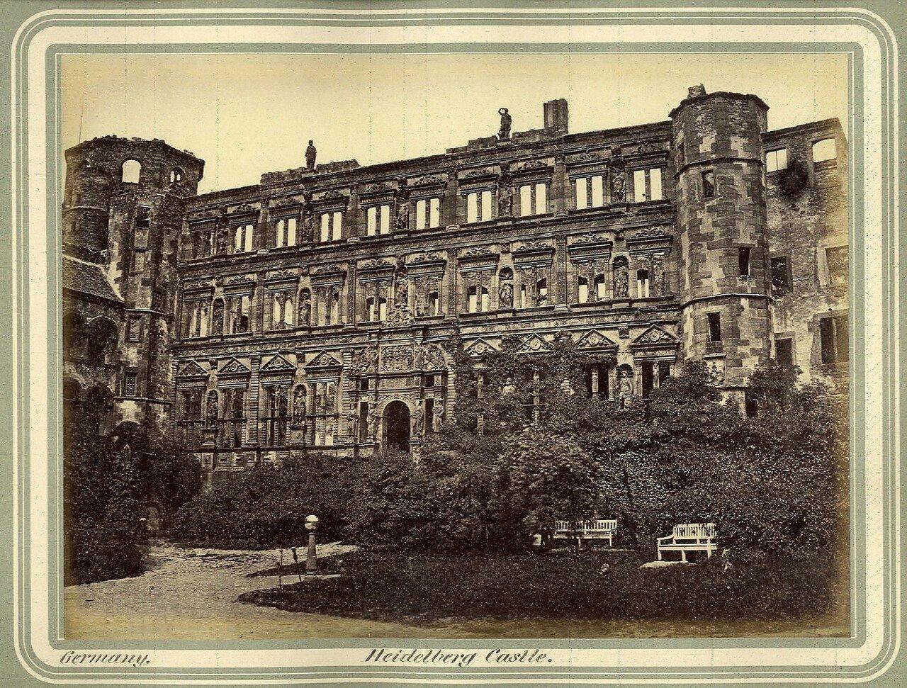 Гейдельберг. Гейдельбергский замок. 1864