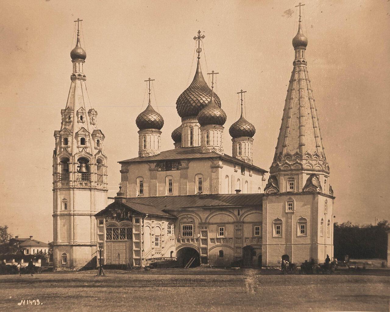 Вид западного фасада церкви Ильи Пророка