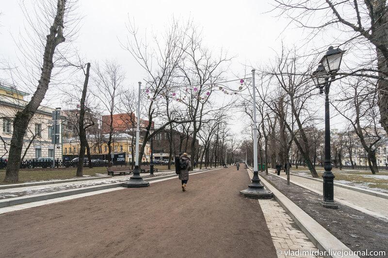 Тверской бульвар - В ожидании весны