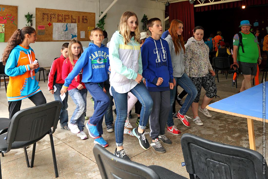в Крыму детский отдых в лагере