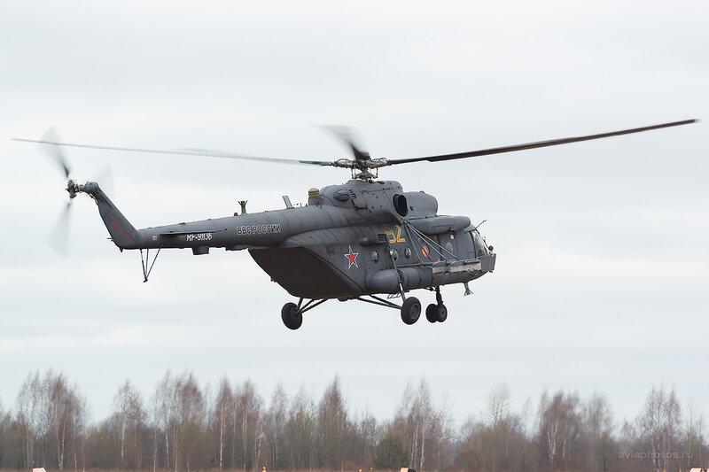 Миль Ми-8МТ (RF-91136 / 82 жёлтый) D803962