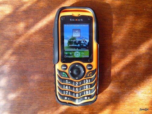 Texet TM-510R (свой фон аудиоплеера)