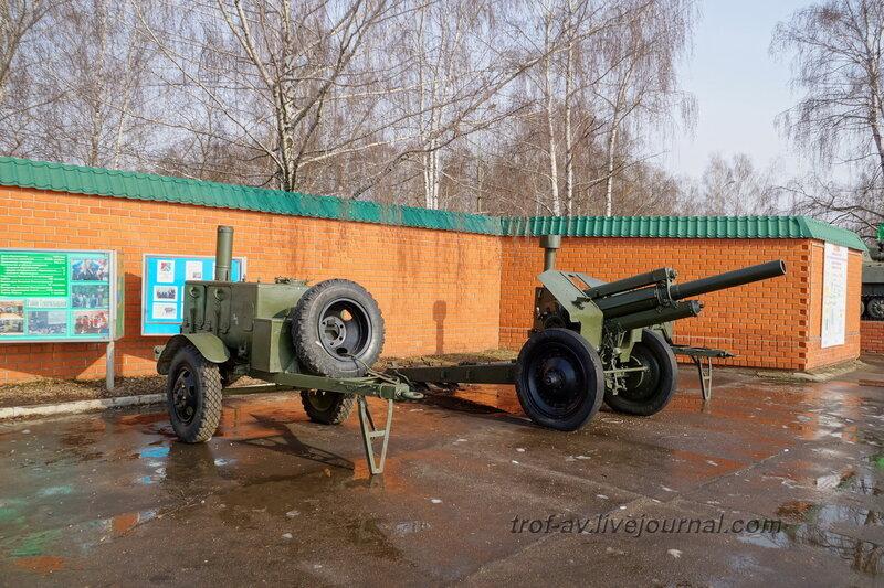 Гаубица М-30 и полевая кухня КП-125, РОСТО Кузьминки, Москва