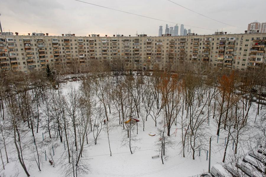 круглый дом фотография двора с высоты