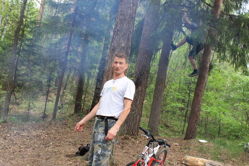 Поход в лес 24 мая 2014г.