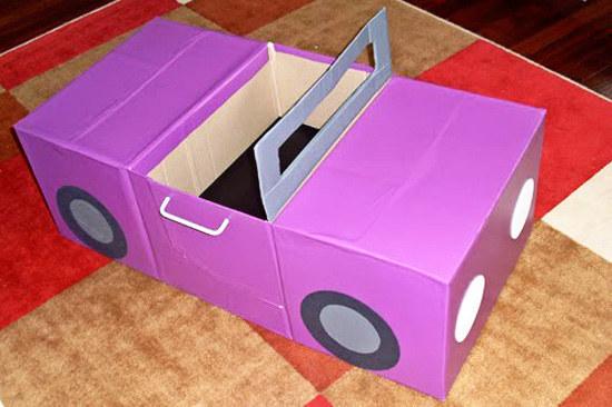 Как сделать игрушку своими руками из картона