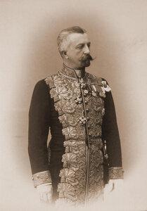 Гендриков (имя и отчество не установлены) - граф, член Государственного Совета Российской империи. Портрет.