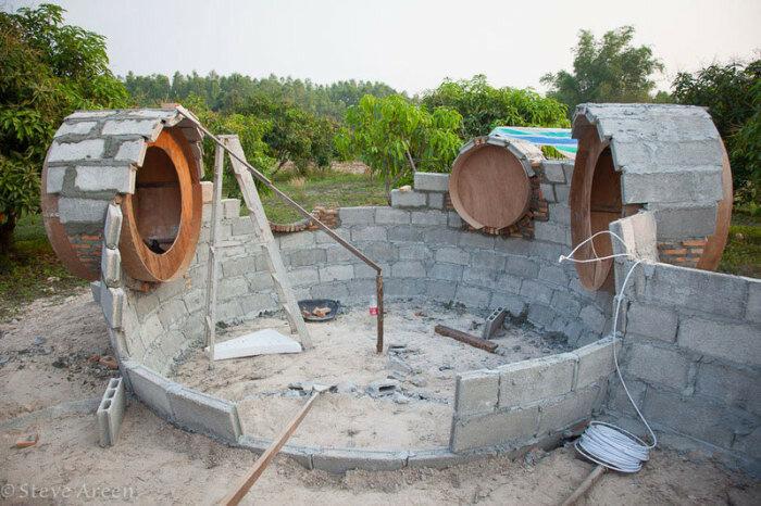 Парень построил дом всего за 1,5 месяца