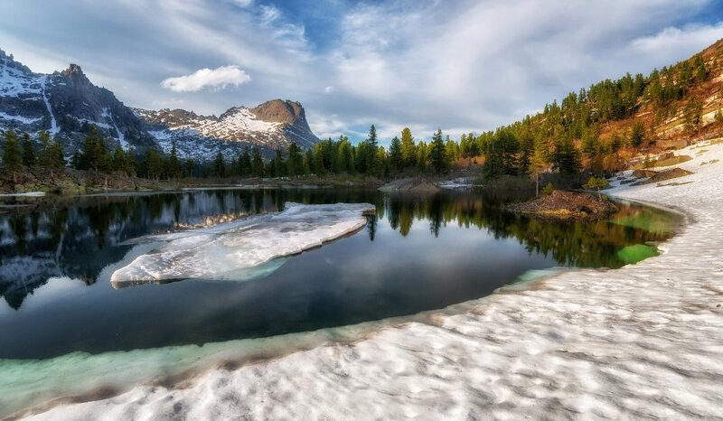 Вокруг озера Художников