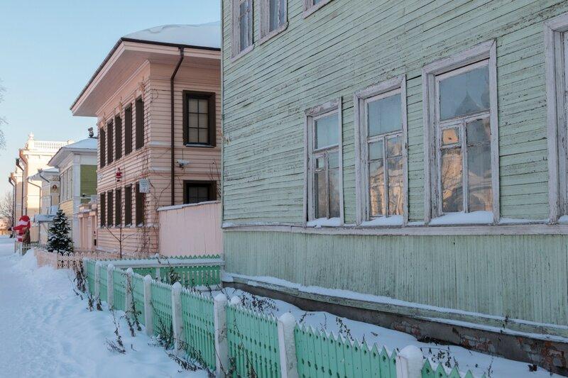 Деревянные дома, Вологда