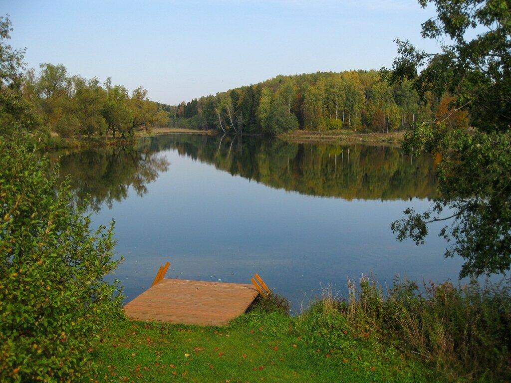 Пруд в Рождественно-Суворово