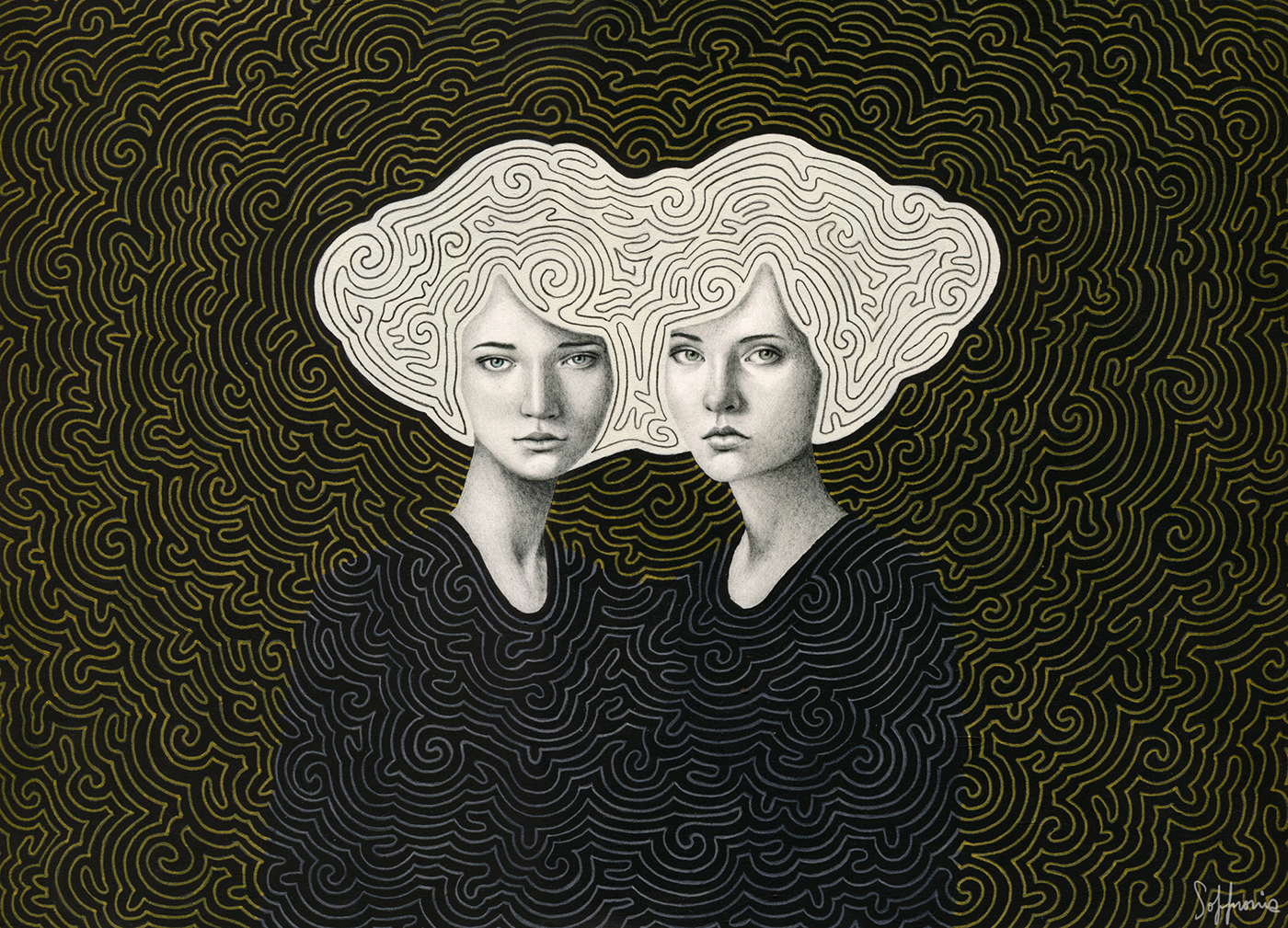 A-maze-ing Girls by Sofia Bonati
