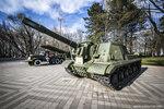 """Тяжелая самоходная артиллерийская установка ИСУ-152 """"Зверобой"""""""