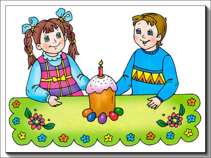 Пасха в картинках для детей
