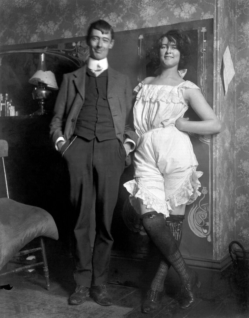 Lionel Lindsay (Australia 1874–1961)Norman Lindsay and Rose Soady, Bond Street studioc. 1909