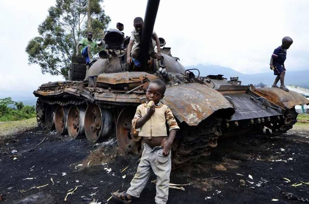 Дети солдаты - Конго (9)