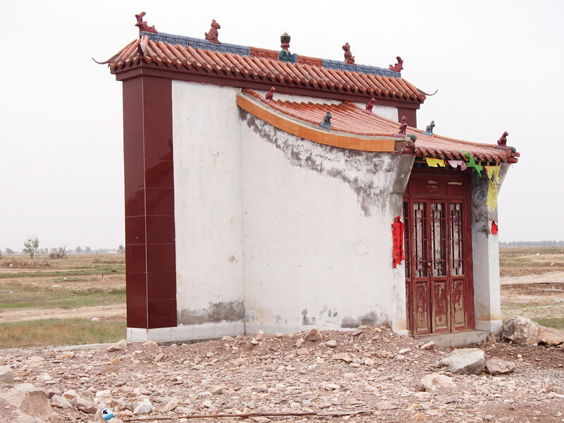 храм в долине Хэтао, Внутренняя Монголия, Китай
