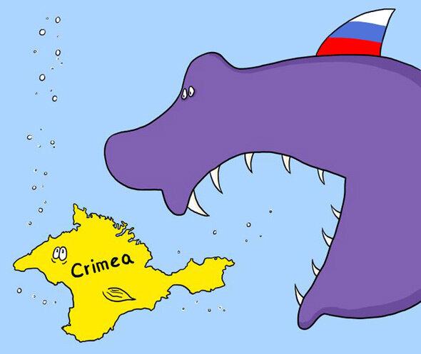 Crimea — March 26, 2014 © Dmytro Skazhenyk