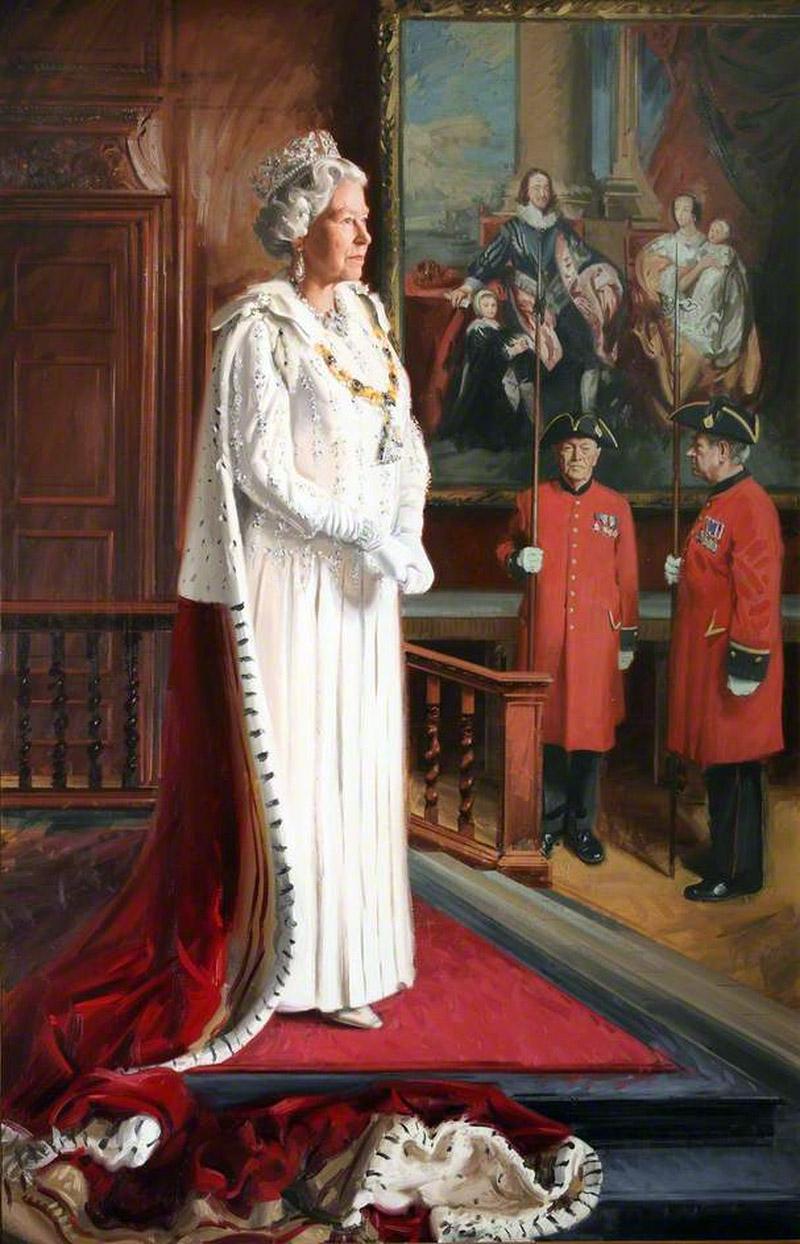 HM Queen Elizabeth II (b.1926)by Andrew Festing (1999)